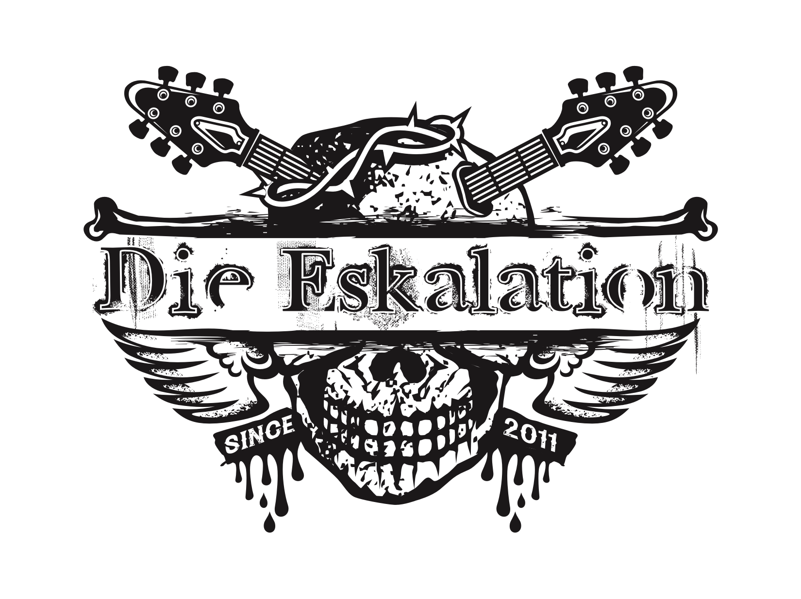 01 Die Eskalation - version A - full logo - transparent background